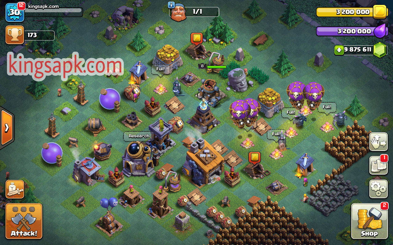 Clash Of Null's BuilderBase COC MOD APK