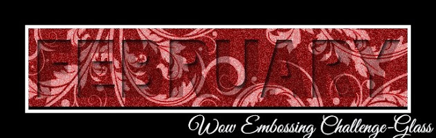 Click here to enter our challenge and win some Wow! Embossing Powders!!