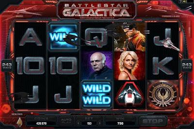 Save Mankind With The Battlestar Galactica Slot Machine