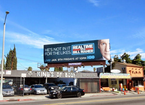 Real Time with Bill Maher season 13 billboard