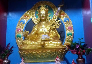 Guru Padhma Sambhav statue inaugurated in donga chyoling labdah Gumba