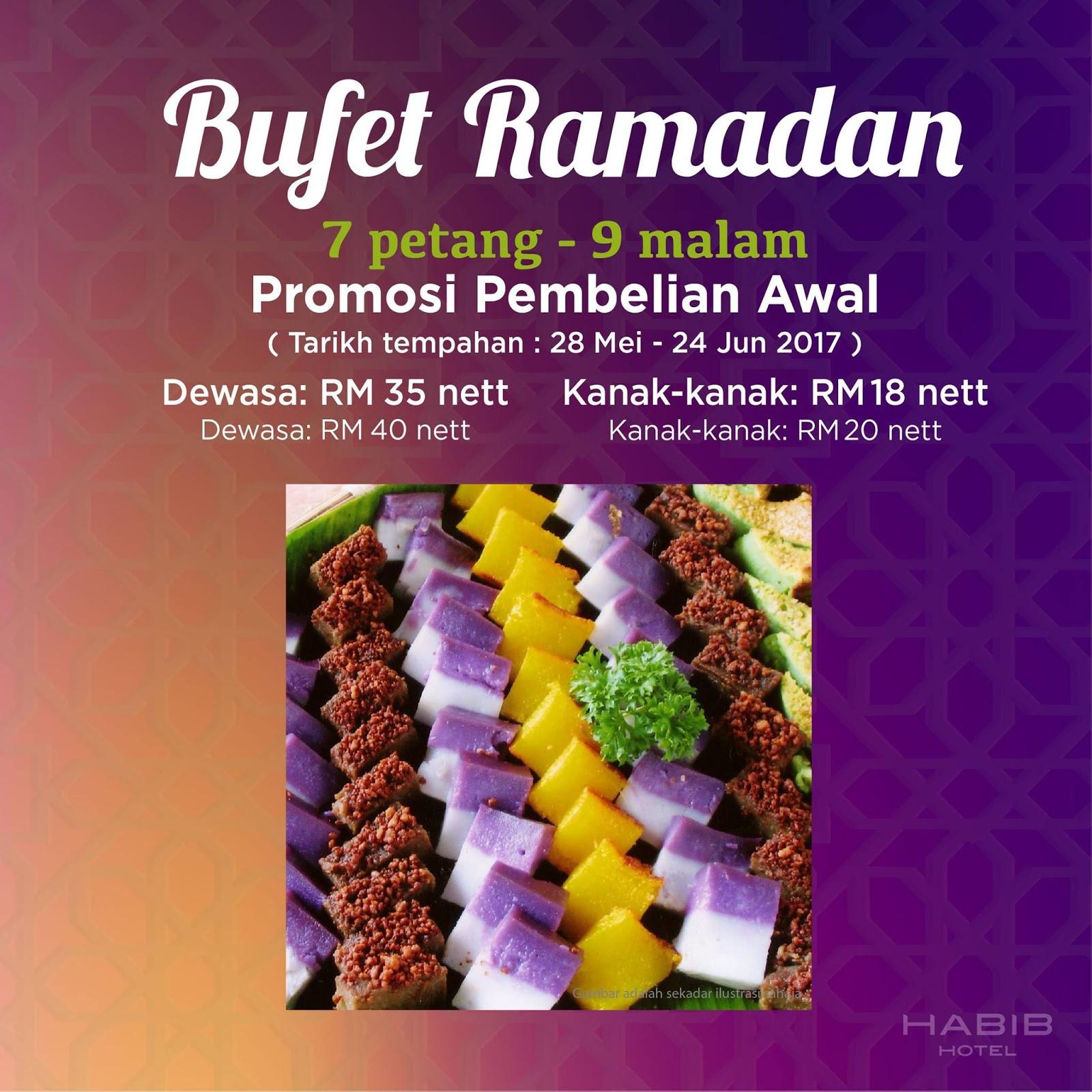 kelantan hotel habib ramadhan buffet