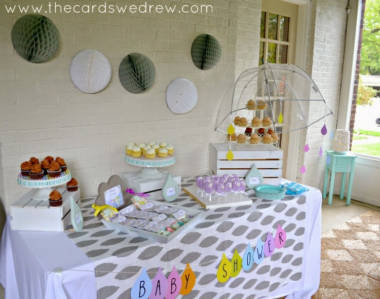 10 COLORFUL Before and After Features; Gender Neutral RAN SHOWER, Baby Shower