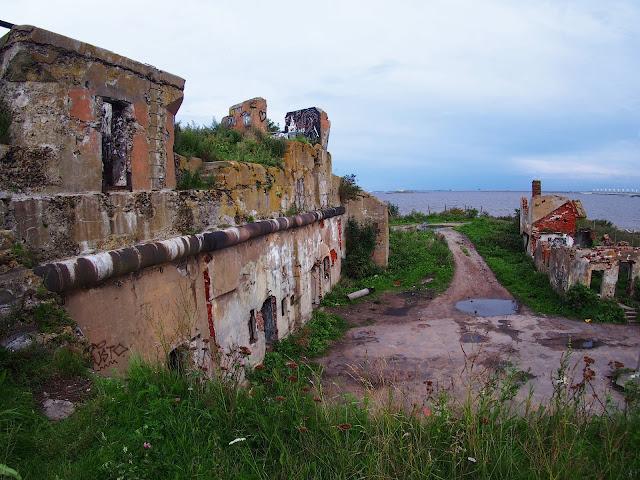 Fort na morzu Bałtyckim (Kronsztad).