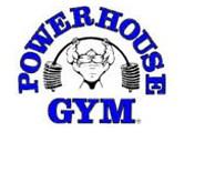 d5688de0d8a9b Powerhouse Gym features the well-recognized bent-bar logo. Powerhouse  clothing includes a racerback tanktop