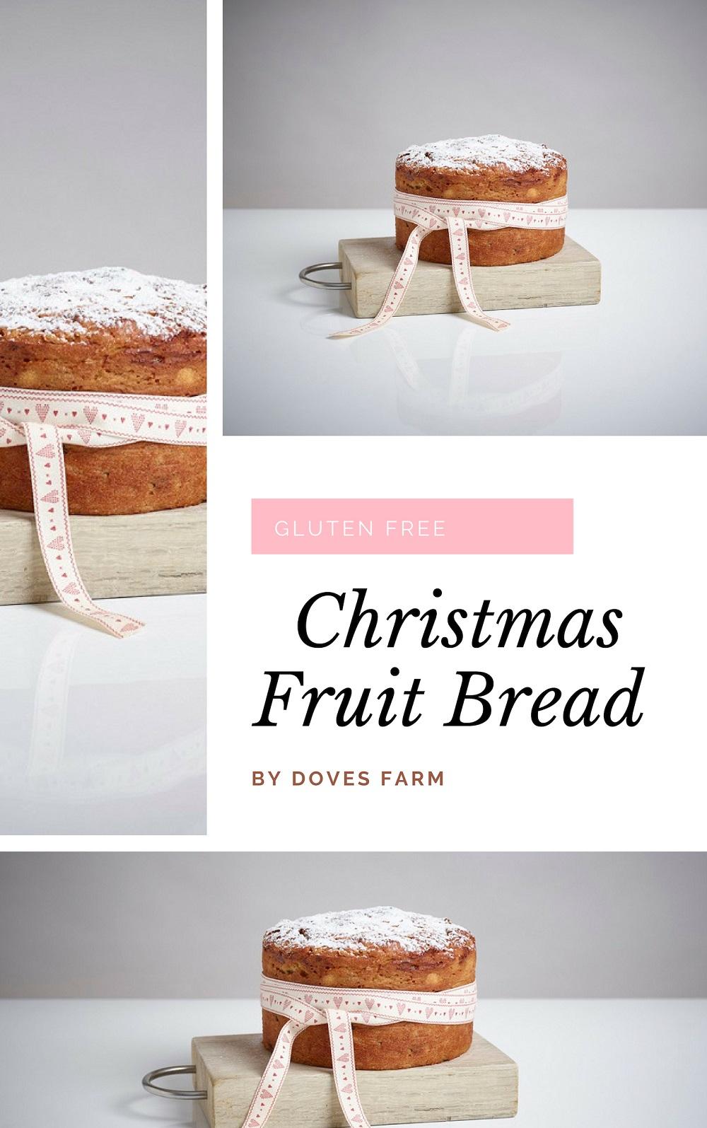 Gluten Free Christmas Fruit Bread
