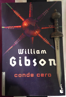 Portada del libro Conde Cero, de William Gibson