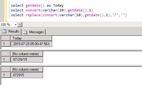 Convert datetime to MMDDYY format in sql server dotNETspidor A - sql convert