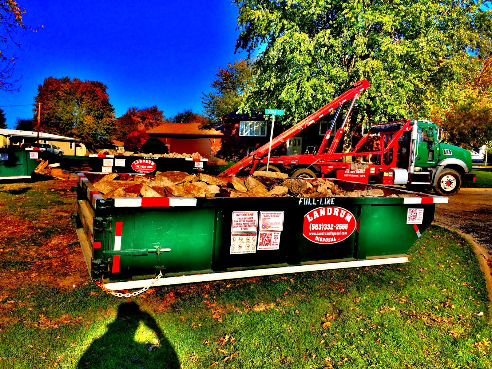 Roofing Dumpsters Quad Cities