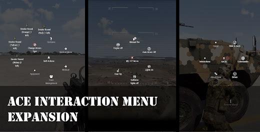 Arma3用アクションをインタラクション メニューへ統合したMOD