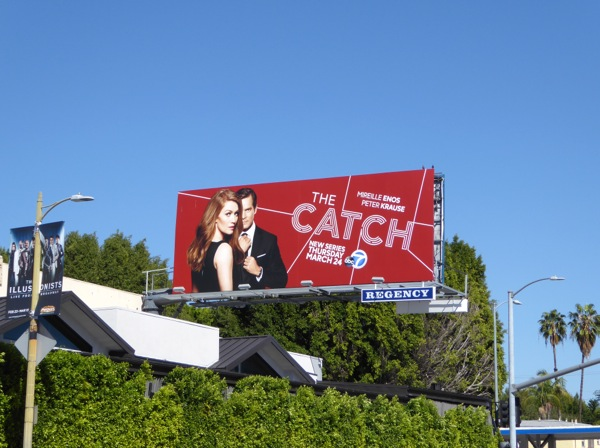 The Catch season 1 billboard