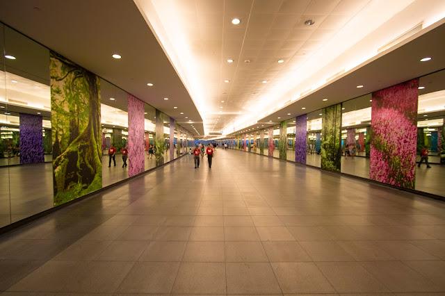 Stazione metro-Singapore