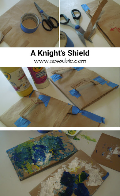 the steps to create a shield
