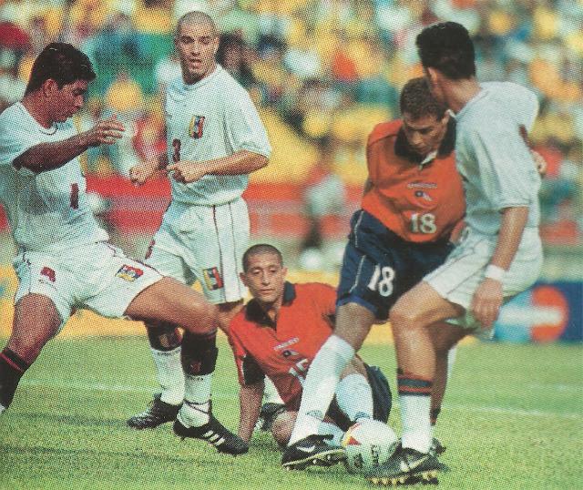 Chile y Venezuela en Copa América 2001, 14 de julio