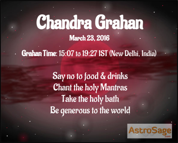 Chandra Grahan 2016 dates and timings are here