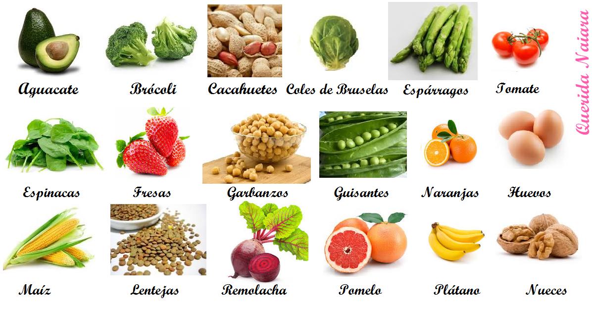 Alimentos ricos en acido folico para embarazadas dietas de nutricion y alimentos - Alimentos ricos en purinas acido urico ...