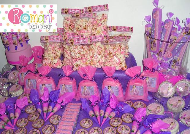 Golosinas Personalizadas de Rapunzel