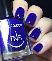 TNS Cosmetics China Blue