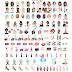 Nuevos Emoji de belleza! Gracias L´Oréal