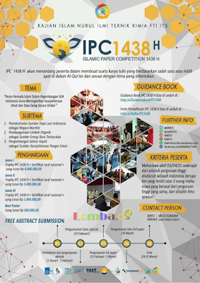 Lomba Karya Tulis Islamic Paper Competition (IPC) 2017