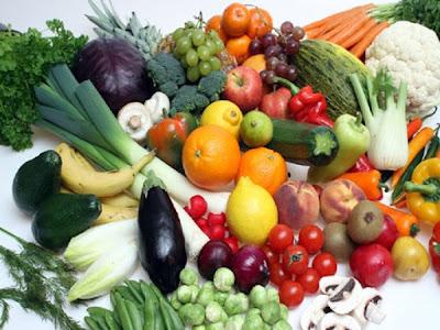 consumir frutas y verduras de colores