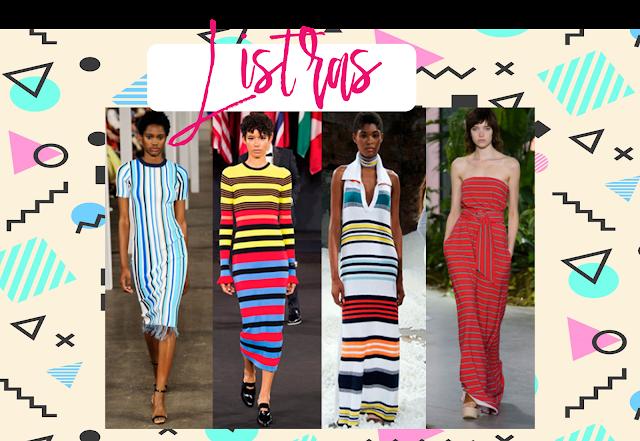 Tendências da moda Primavera Verão 2018.