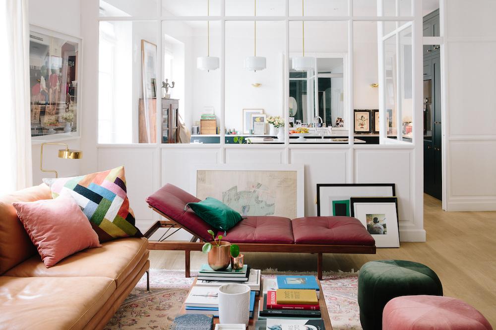 a very boho chic parisian home