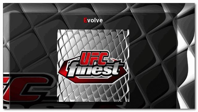 Kodi UFC Finest addon