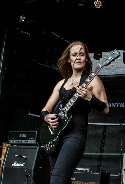 Ladies of Metal: Edda Tegeder Óskarsdóttir (Angist), Ladies of Metal, Edda Tegeder Óskarsdóttir, Angist