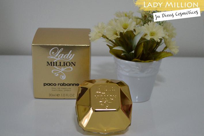 Joinville, Lady Million, Perfume importado, Ju Divas Cosméticos