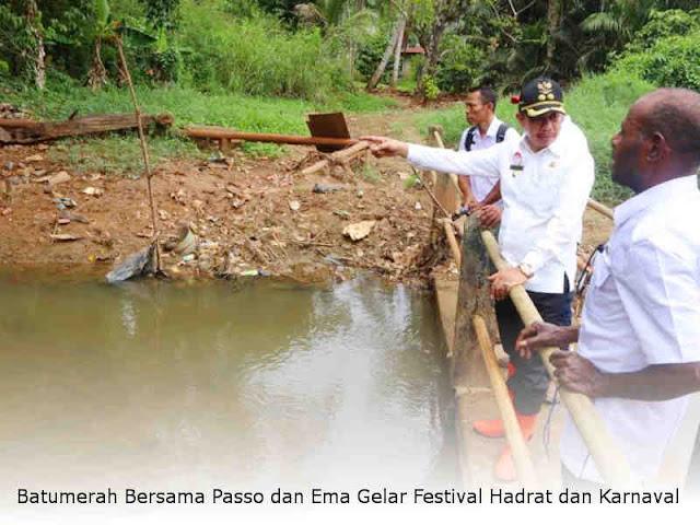 Wakil Wali Kota Tinjau Lokasi Perbaikan Saluran Air di Organda
