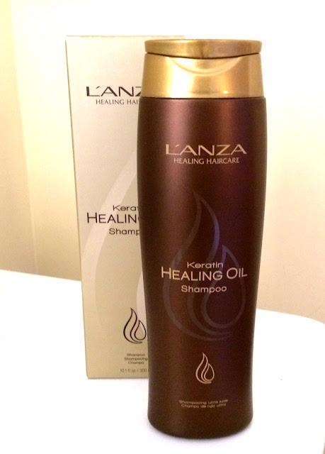 shampoo keratin healing oil lanza low poo