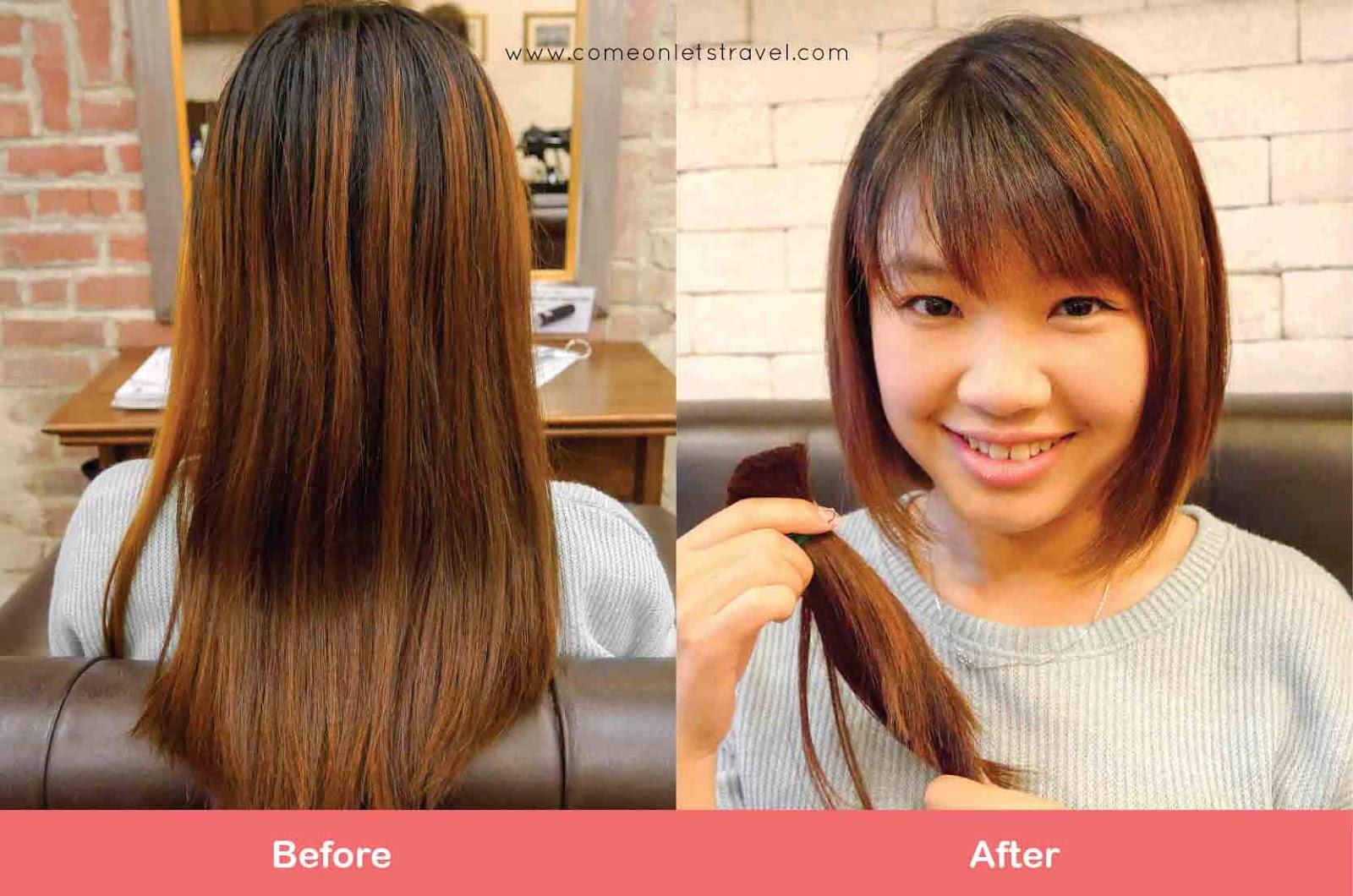 Hair Donation Locks Of Hopes Association Adeline Lee