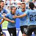 Uruguai desbanca Rússia e avança às oitavas como líder do grupo