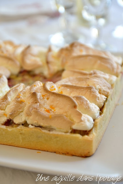 Tarte rhubarbe-orange, de Christophe Felder