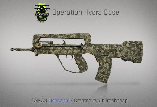 Operation Hydra Case - FAMAS | Macabre