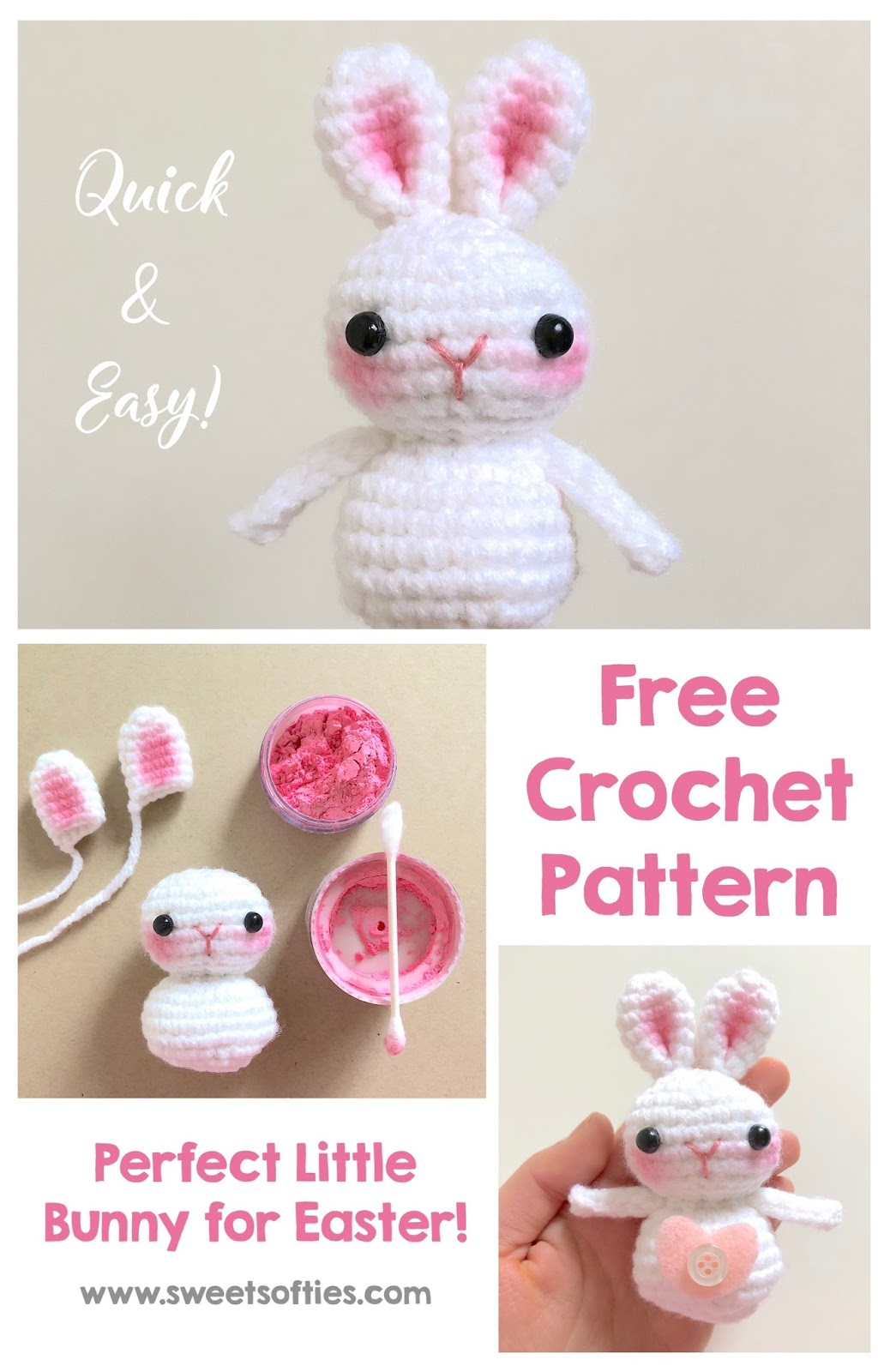 Some-BUNNY To Love (Free Crochet Pattern) - Sweet Softies ...