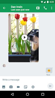 تحميل برنامج جلسات دردشة الفيديو مجانا Download Hangouts Free