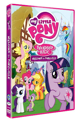 Cover of the first R2 MLP:FiM DVD