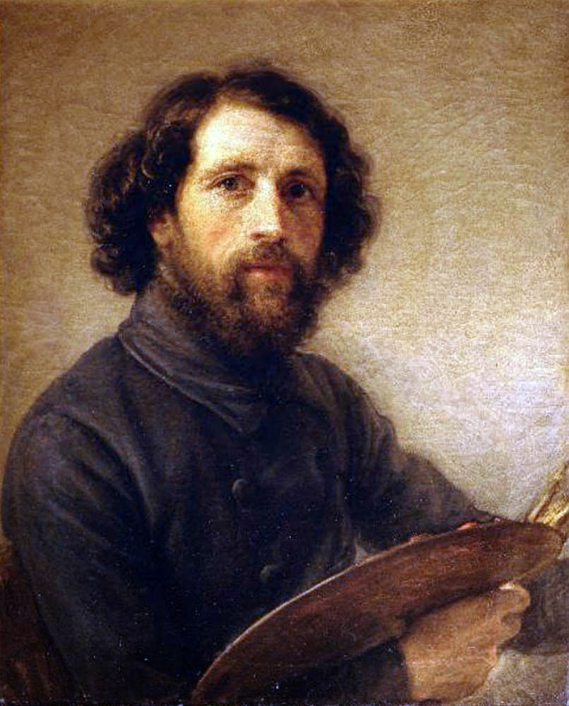Giovanni Cavaller, Self Portrait, Portraits of Painters, Fine arts, Portraits of painters blog, Paintings of Giovanni Cavaller, Painter Giovanni Cavaller