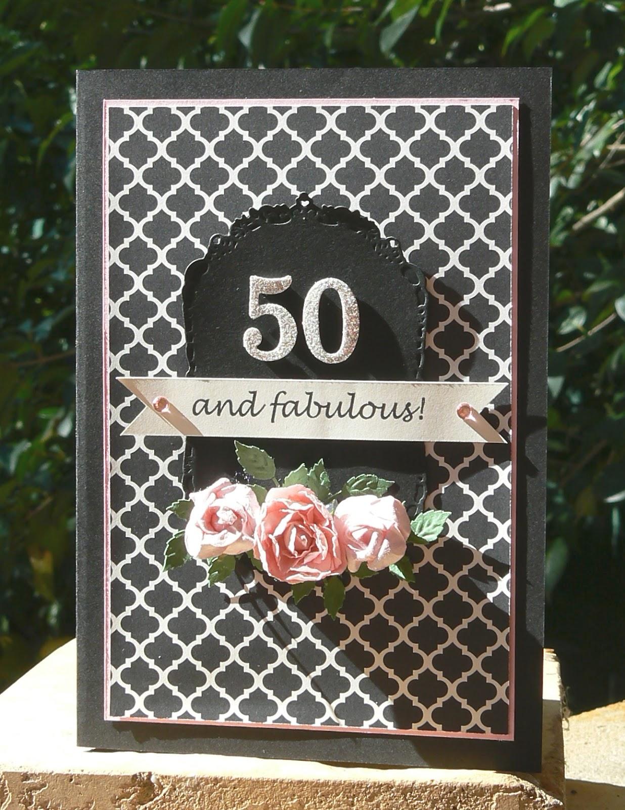 50 Fabulous Ways To Wear Glitter Nails Like A Boss: KB Papercraft: 50 And Fabulous
