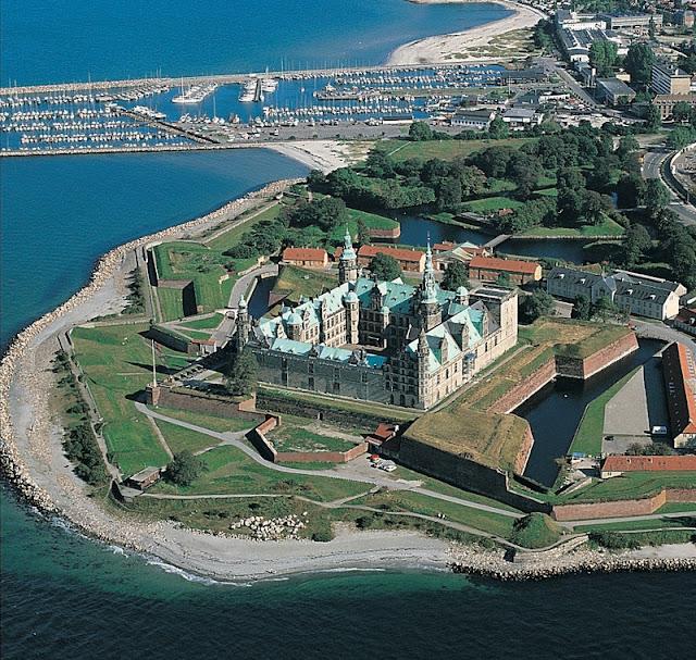 Visita ao Castelo de Kronborg, Dinamarca