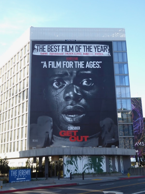 Consider Get Out film billboard