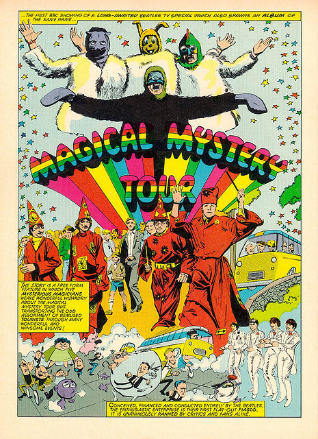 Cool Psychedelic Beatles Posters