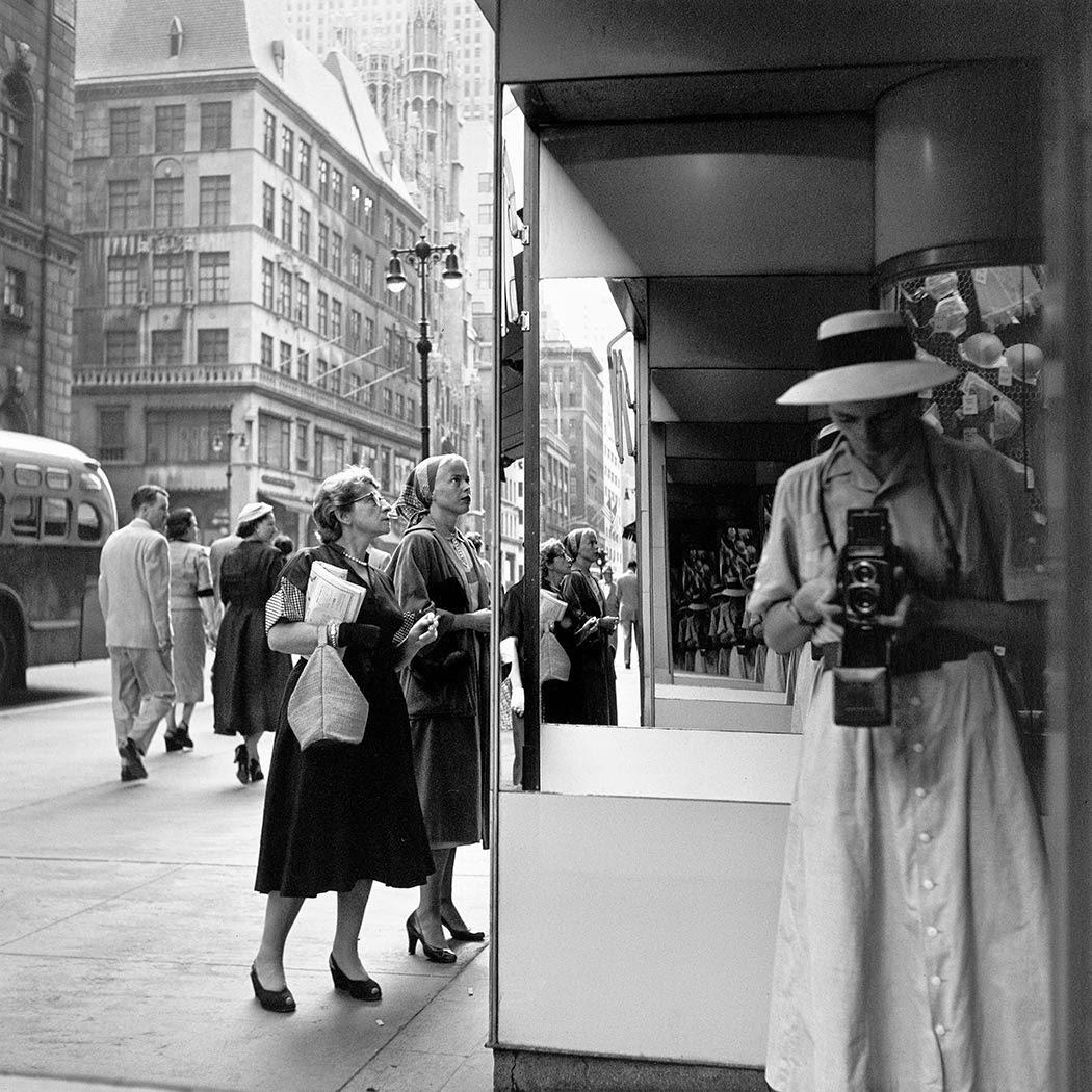 History In Photos: Vivian Maier Self-Portraits