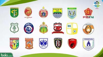 logo klub liga 1 2018