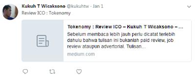 Pandangan Kukuh tw terkait ICO Cryptocurrency