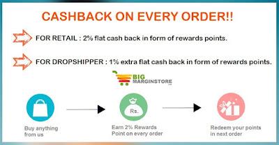Get flat 10% Off Coupon for BigMarginStore