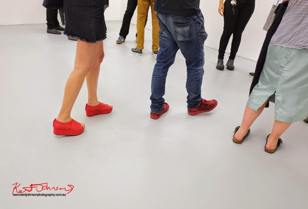 Red shoes, Chalk Horse Gallery