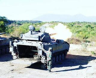 AMX-10 PAC 90 Korps Marinir